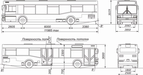 МАЗ 104 - 3