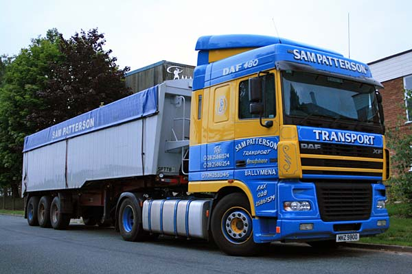 DAF XF95 series - 6