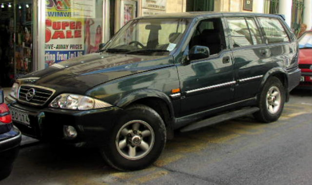 SsangYong Musso - 1